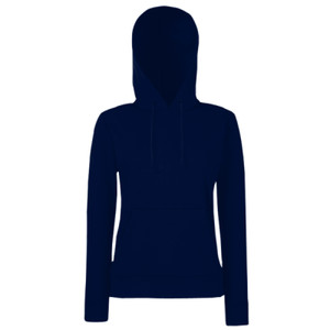 SS801mg - 80/20 lady-fit hooded sweatshirt