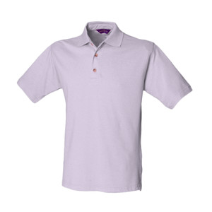 H100mg - Classic polo with stand up collar